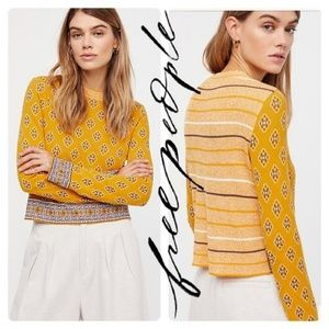 Free People New Age Cropped sweater